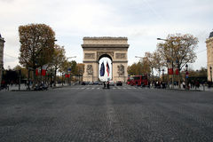 Arc de triomphe - Paris - France. The Arc de triomphe - Paris - France Royalty Free Stock Images