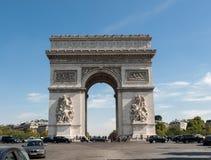 Arc de triomphe in  Paris. France Royalty Free Stock Photos