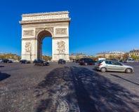 Arc de Triomphe (1808), Paris. Arc de Triomphe in Paris, France Royalty Free Stock Photography
