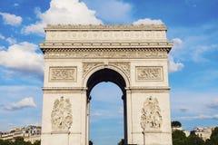 Arc de Triomphe in Paris. Paris, France Royalty Free Stock Image