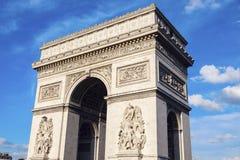 Arc de Triomphe in Paris. Paris, France Royalty Free Stock Photo