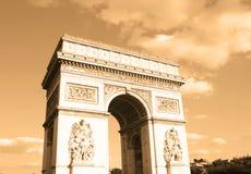 Arc de triomphe. Paris - France Royalty Free Stock Photos