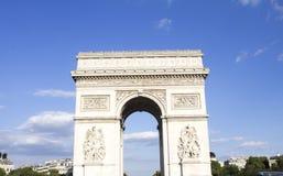 Arc de triomphe. Paris - France Stock Image