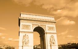 Arc de triomphe. Paris - France Royalty Free Stock Image