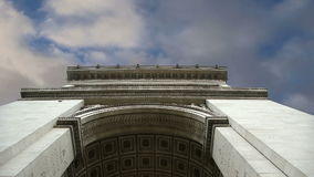 Arc de Triomphe, Paris, France, Central Europe stock footage