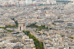 Arc de Triomphe, Paris, France Stock Photos