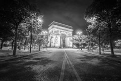 Arc de Triomphe Paris, France Stock Images