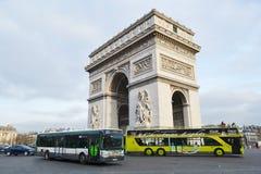 Arc de Triomphe, Paris. Royalty Free Stock Image