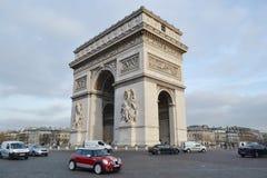 Arc de Triomphe, Paris. PARIS, FRANCE - JANUARY 7, 2013: Arc de Triomphe in Paris Stock Image