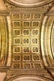 Arc de Triomphe - Paris, France. The Arc de Triomphe de l& x27;Etoile, & x28;Triumphal Arch of the Star& x29; is one of the most famous monuments in Paris Stock Image