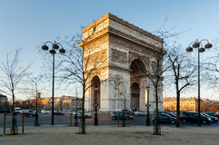 Arc de Triomphe Paris, France Royalty Free Stock Photo