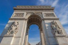 Arc de triomphe, Paris, France. Stock Photos