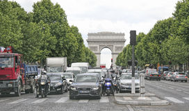 Arc de Triomphe, Paris, France Royalty Free Stock Image