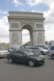 Arc de Triomphe Tarffic, Paris, France Stock Photo