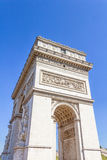 Arc de Triomphe, Paris, France. View of the Arc de Triomphe, Paris, France Stock Photos