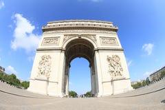 Arc de Triomphe. In Paris (France Royalty Free Stock Images