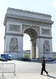 Arc de Triomphe. In Paris (France Stock Photos
