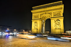 Arc de Triomphe, Paris Royalty Free Stock Image