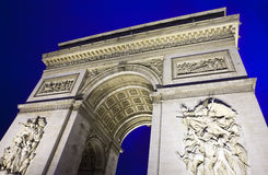 Arc de Triomphe in Paris Royalty Free Stock Images