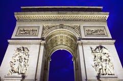 Arc de Triomphe in Paris. The magnificent Arc de Triomphe in Paris, France Stock Photo