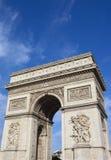 Arc de Triomphe in Paris Royalty Free Stock Images