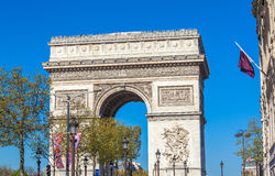 Arc de Triomphe (1808), Paris Royalty Free Stock Image