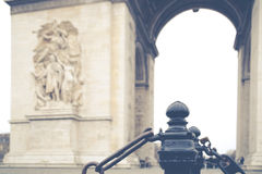 Arc de Triomphe, Paris Stock Images