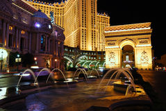 Arc de Triomphe, Paris Vegas, Las Vegas Stock Image