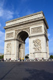 Arc de Triomphe in Paris Stock Photography