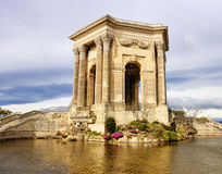 Arc de Triomphe, in Peyrou Garden, Montpellier. France Stock Image