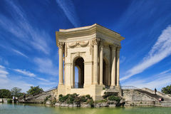 Arc de Triomphe, in Peyrou Garden in Montpellier, France Stock Photo