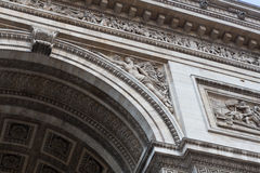 Arc de Triomphe Sculpture λεπτομέρειες σωστές Στοκ φωτογραφία με δικαίωμα ελεύθερης χρήσης