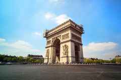 Arc de Triomphe square Royalty Free Stock Photos