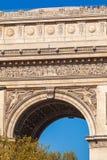 Arc de Triomphe & x28 1808& x29 , Παρίσι Στοκ εικόνα με δικαίωμα ελεύθερης χρήσης