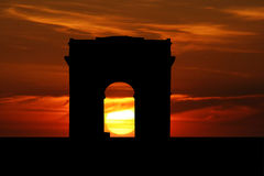 Arc- de Triompheabbildung Lizenzfreie Stockbilder