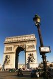 Arc- de TriompheVorderansicht Lizenzfreies Stockfoto