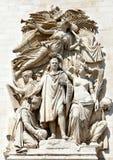 Arc de Triumph, Παρίσι, Γαλλία Στοκ Εικόνες