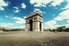 Arc de Triumph, Παρίσι Στοκ εικόνα με δικαίωμα ελεύθερης χρήσης