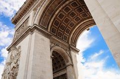 Arc de Triumph, Παρίσι Στοκ Εικόνες