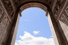 Arc de Triumph, Παρίσι Στοκ φωτογραφία με δικαίωμα ελεύθερης χρήσης