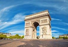 Arc de Triumph στο Παρίσι, Γαλλία Στοκ Εικόνες