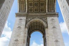 Arc de Triumph στο Παρίσι Στοκ Φωτογραφίες