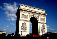 Arc-de-triumph. In a sunny day Stock Photo