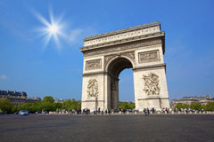 Arc de Triumph Royalty Free Stock Photo