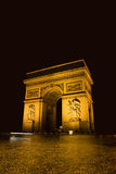 Arc de triumph Royalty Free Stock Images