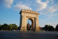 Arc de triumph. Bucharest, Romania Stock Image