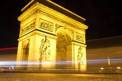 Arc de Triumph lizenzfreies stockfoto