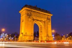 Arc de Triumph, Bucarest Roumanie Image stock