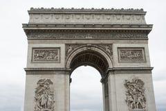 Arc de triumph detail Stock Images