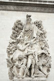 Arc de triumph detail Royalty Free Stock Photography